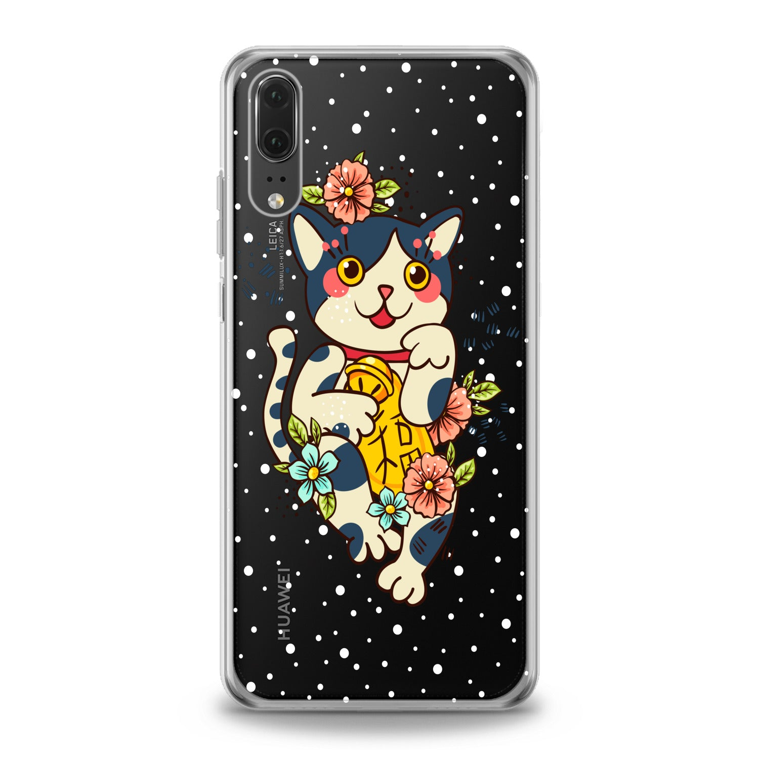 Lex Altern Cute Cat Huawei Honor Case
