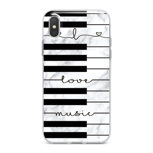 Lex Altern Lovely Piano Keys Phone Case for your iPhone & Android phone.