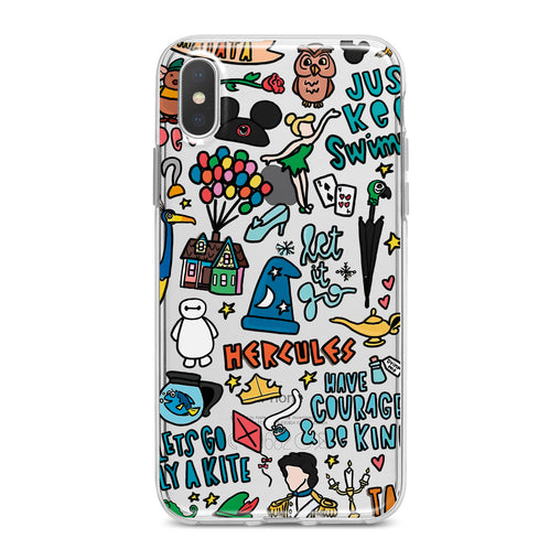 Lex Altern Cartoons Pattern Phone Case for your iPhone & Android phone.