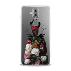 Lex Altern TPU Silicone Phone Case Floral Maleficent