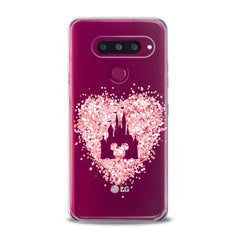 Lex Altern TPU Silicone Phone Case Pink Cartoon Mickey
