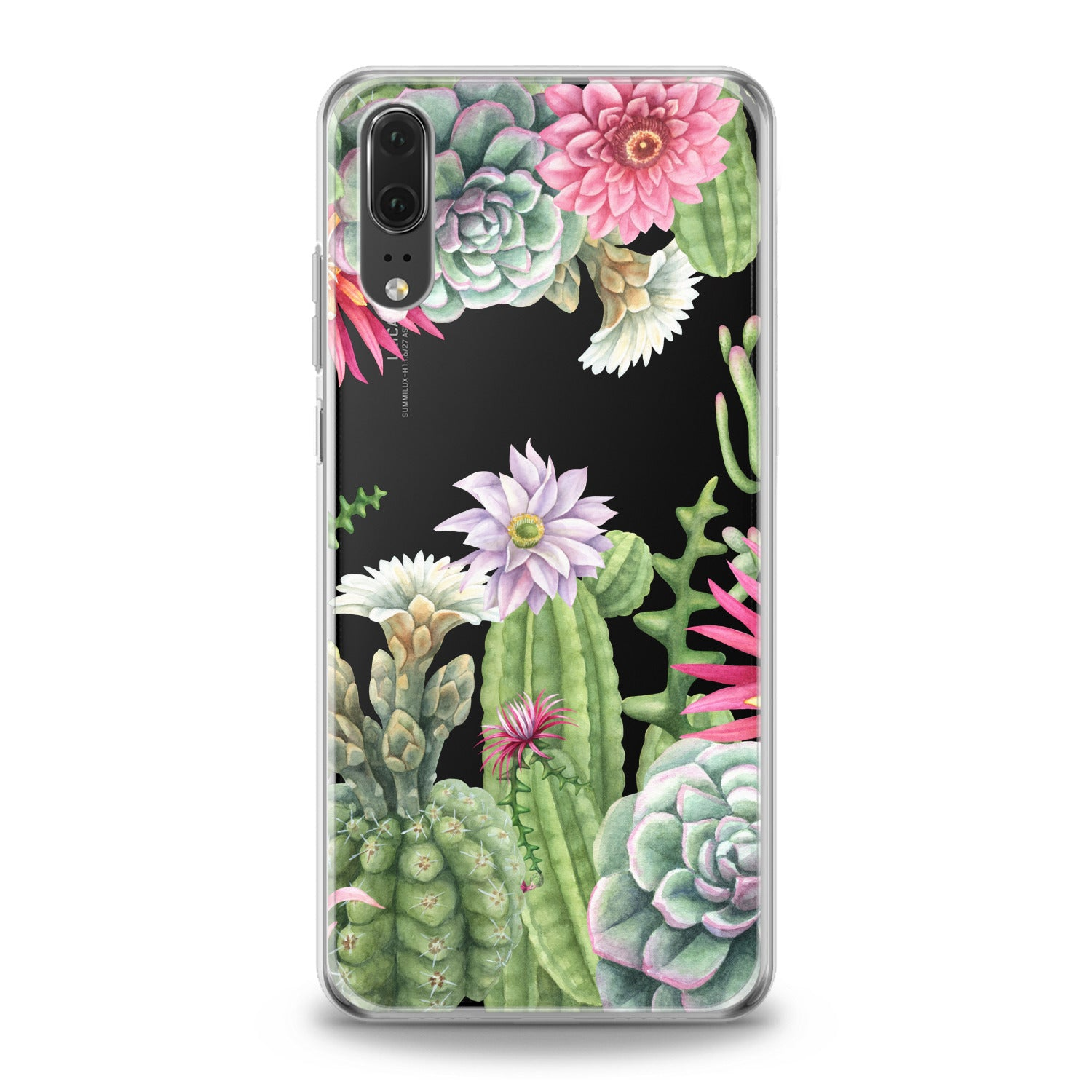 Lex Altern Floral Cactus Huawei Honor Case
