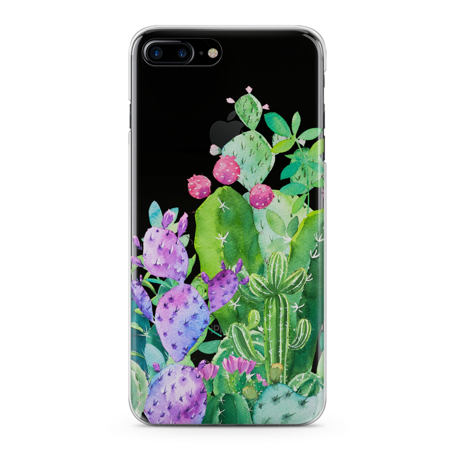 Lex Altern Cacti Bloom Phone Case for your iPhone & Android phone.