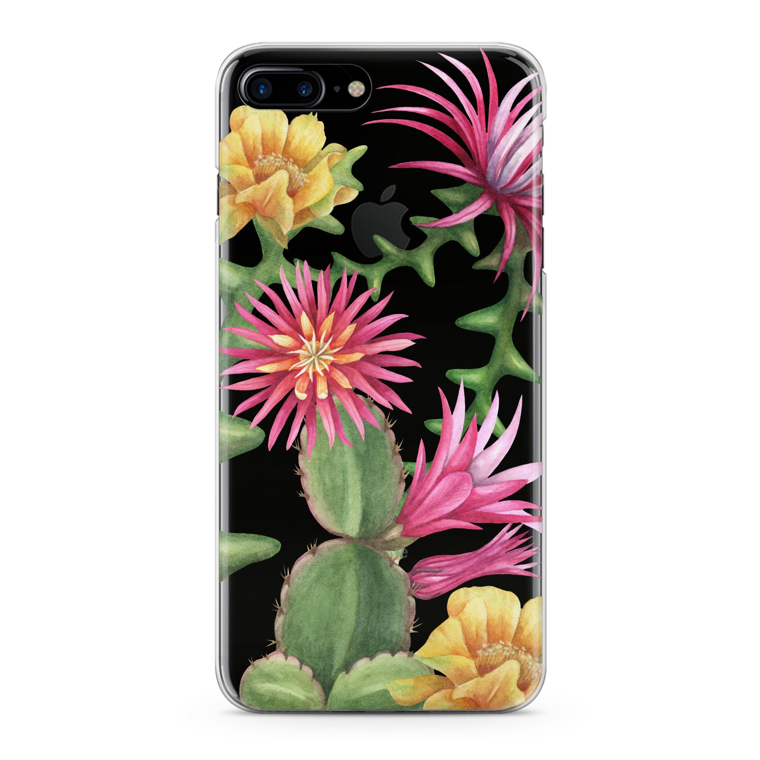 Lex Altern Cacti Flowers Phone Case for your iPhone & Android phone.