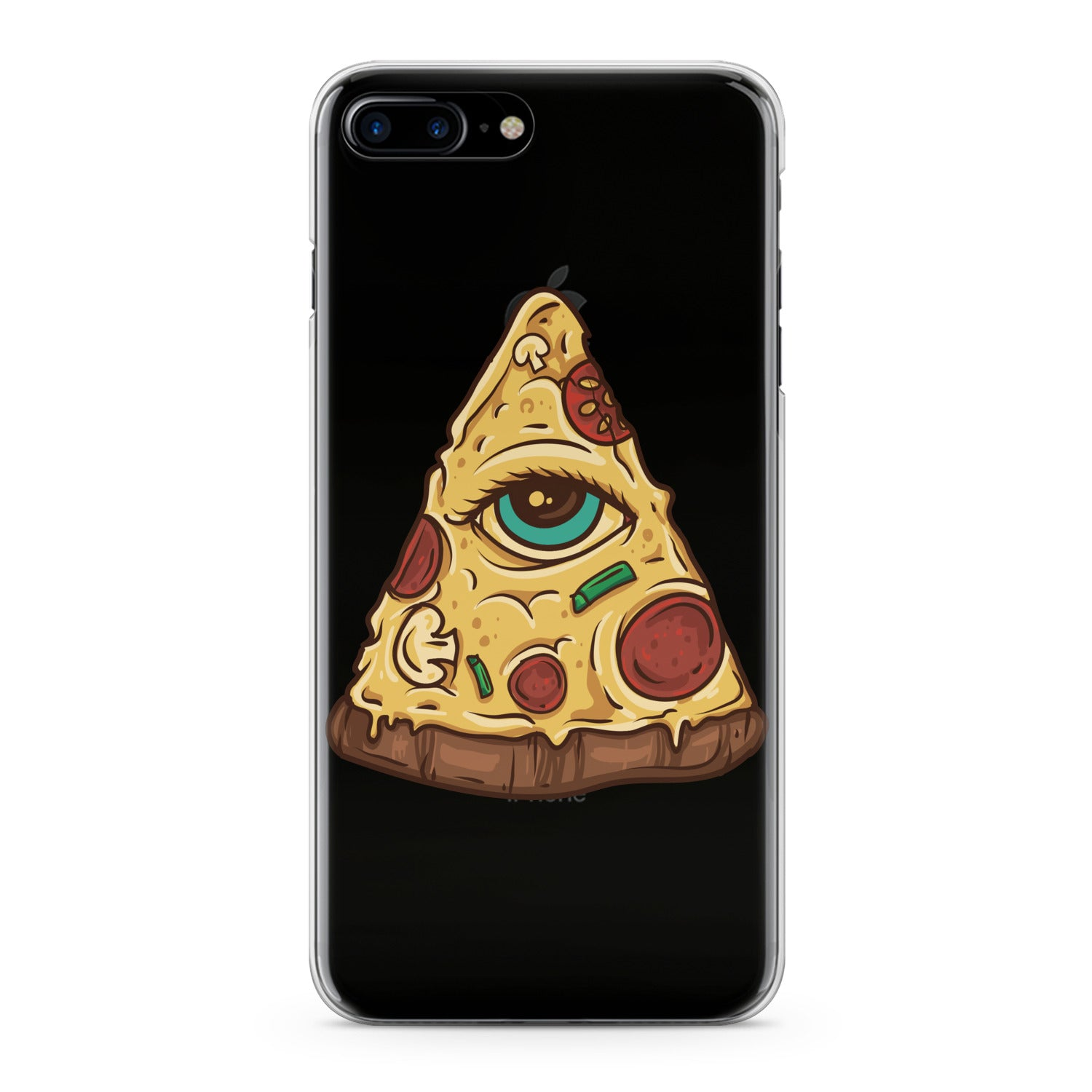 Lex Altern Eye Pizza Phone Case for your iPhone & Android phone.