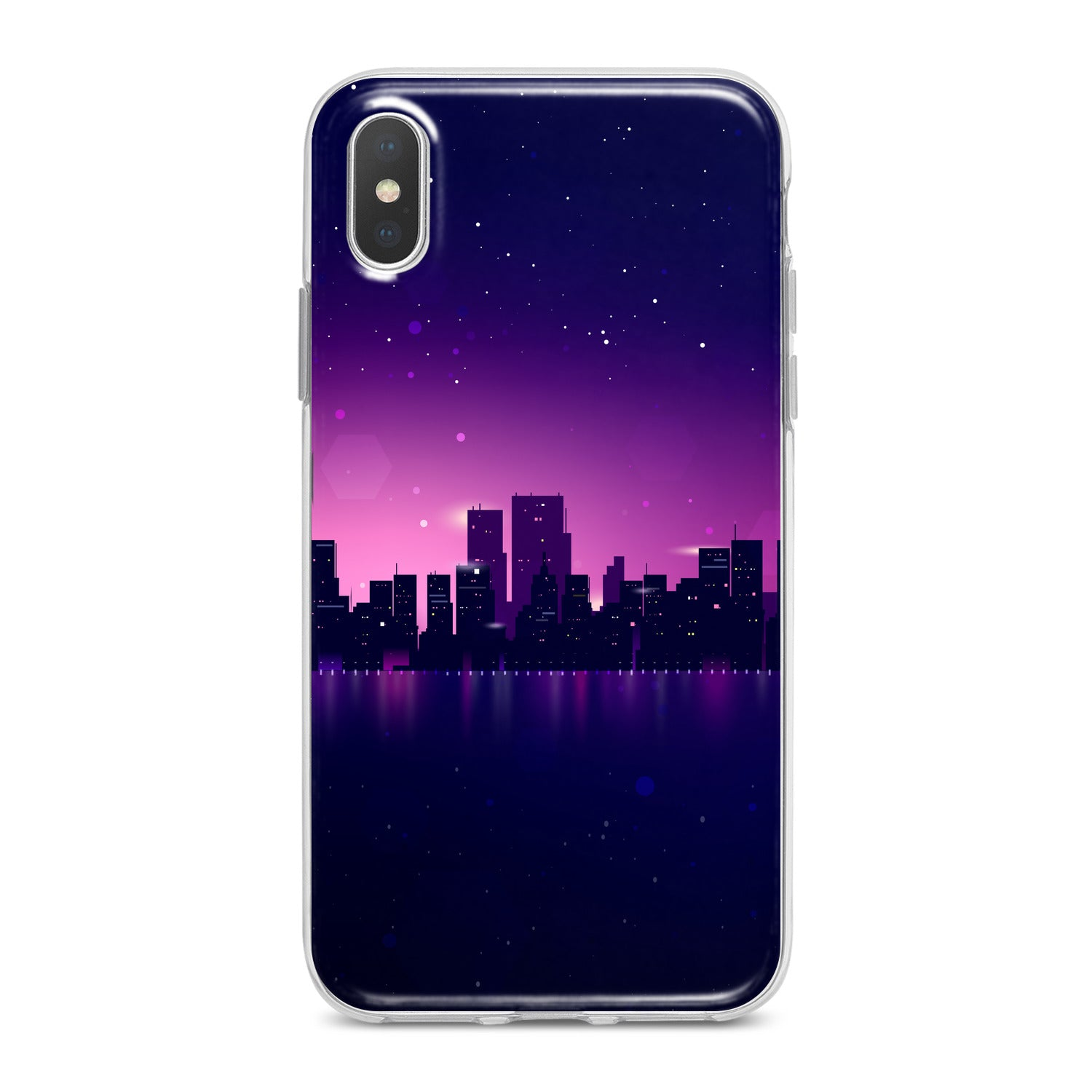Lex Altern Purple Urban View Phone Case for your iPhone & Android phone.