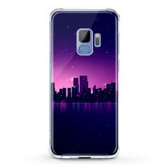 Lex Altern TPU Silicone Phone Case Purple Urban View