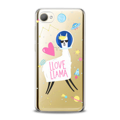 Lex Altern TPU Silicone HTC Case Love Llama