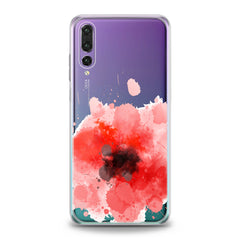 Lex Altern TPU Silicone Huawei Honor Case Red Watercolor Poppy