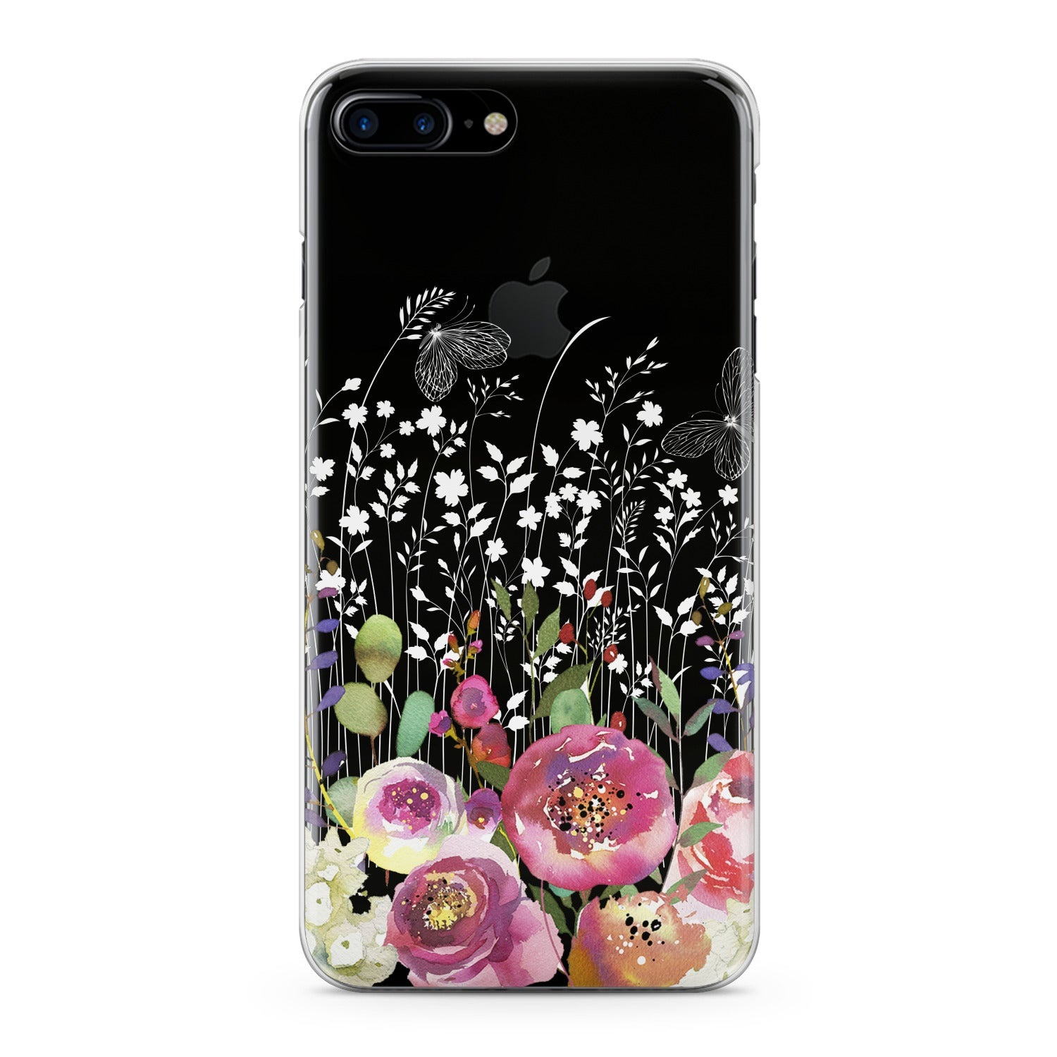 Lex Altern Garden Flowers Phone Case for your iPhone & Android phone.