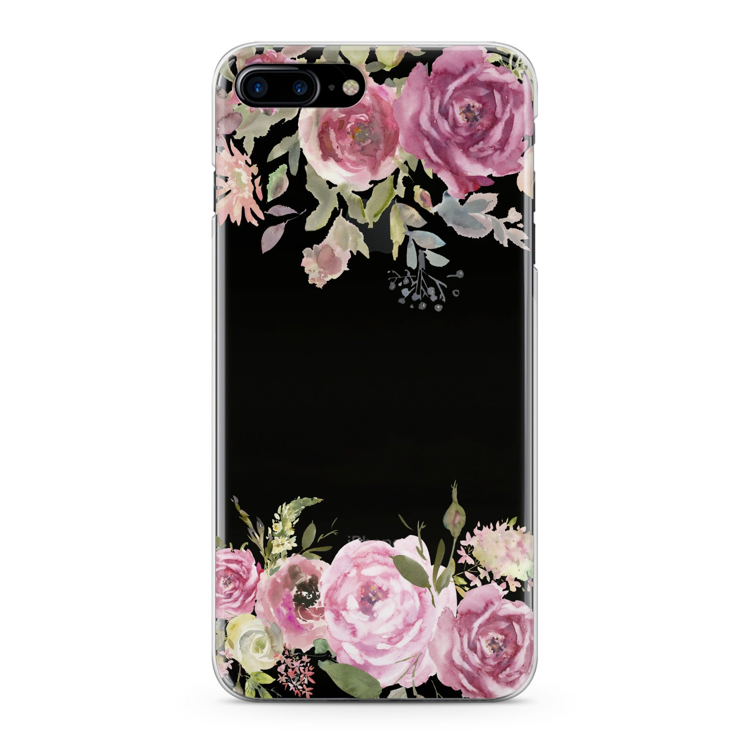 Lex Altern Watercolor Pink Roses Phone Case for your iPhone & Android phone.