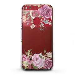 Lex Altern TPU Silicone Phone Case Watercolor Pink Roses