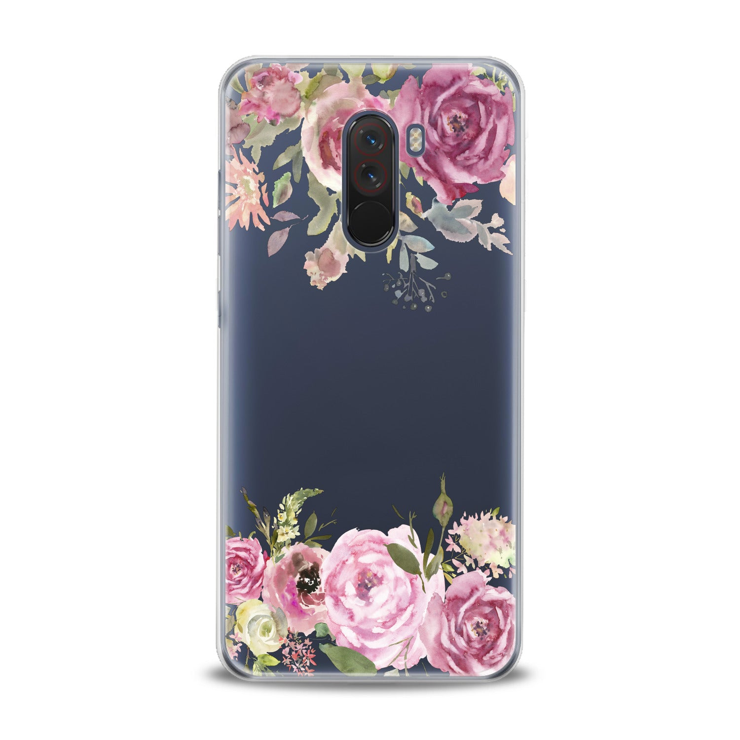 Lex Altern Watercolor Pink Roses Xiaomi Redmi Mi Case