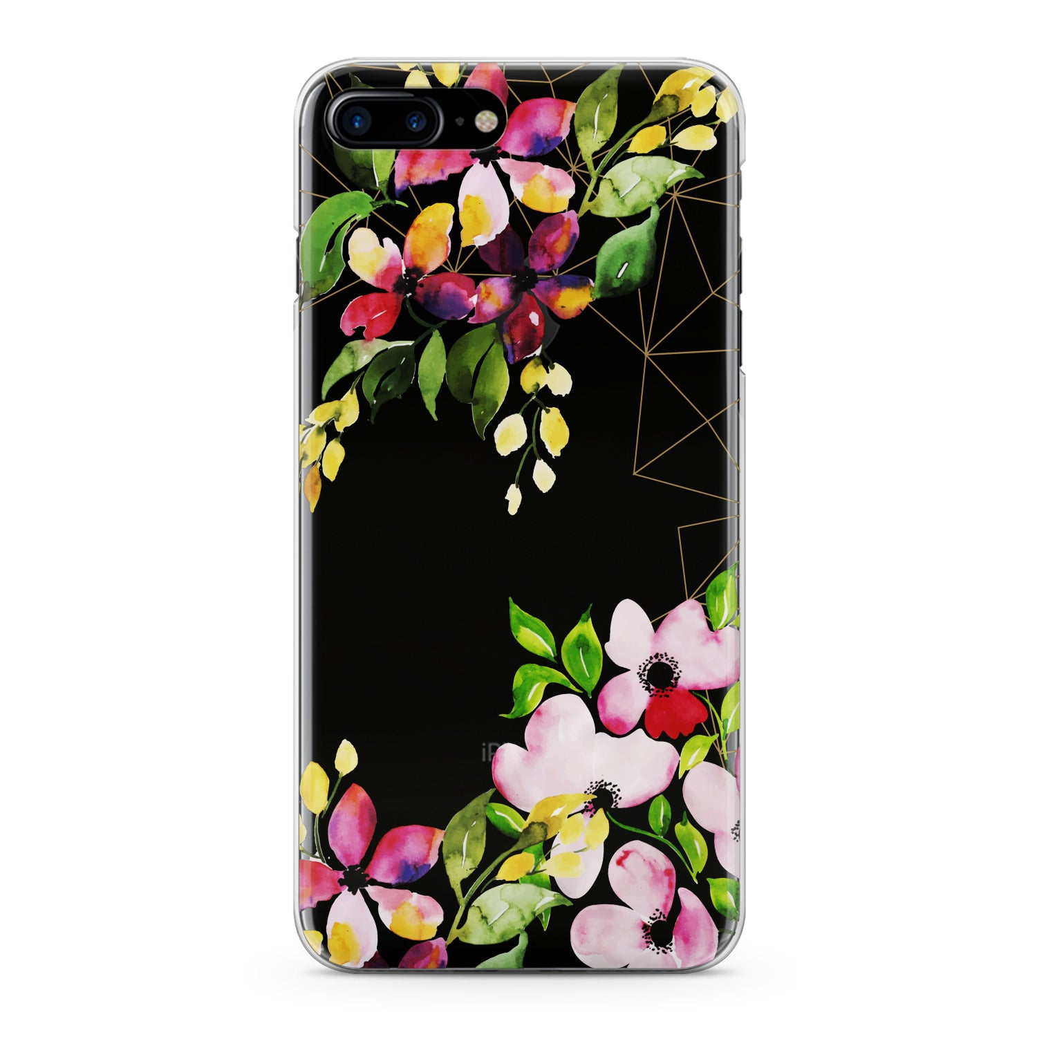 Lex Altern Spring Flowers Print Phone Case for your iPhone & Android phone.