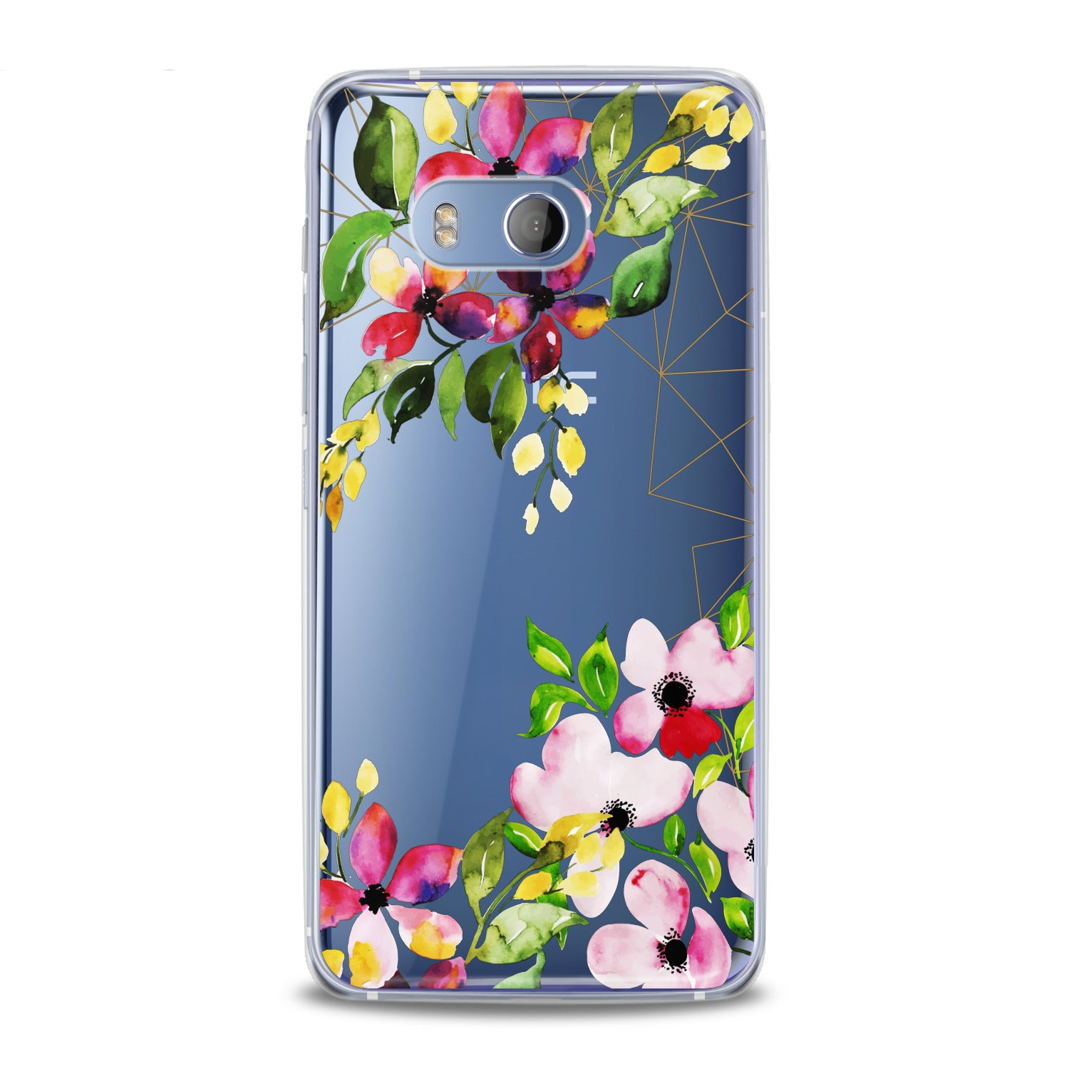Lex Altern Spring Flowers Print HTC Case