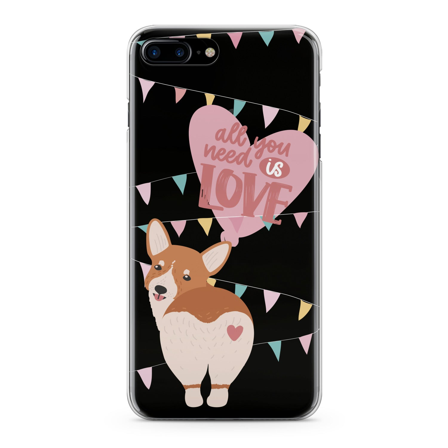 Lex Altern Love Corgi Puppy Phone Case for your iPhone & Android phone.