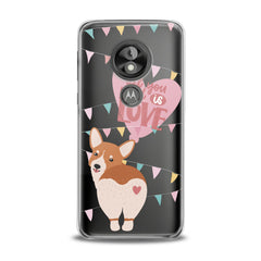 Lex Altern TPU Silicone Phone Case Love Corgi Puppy