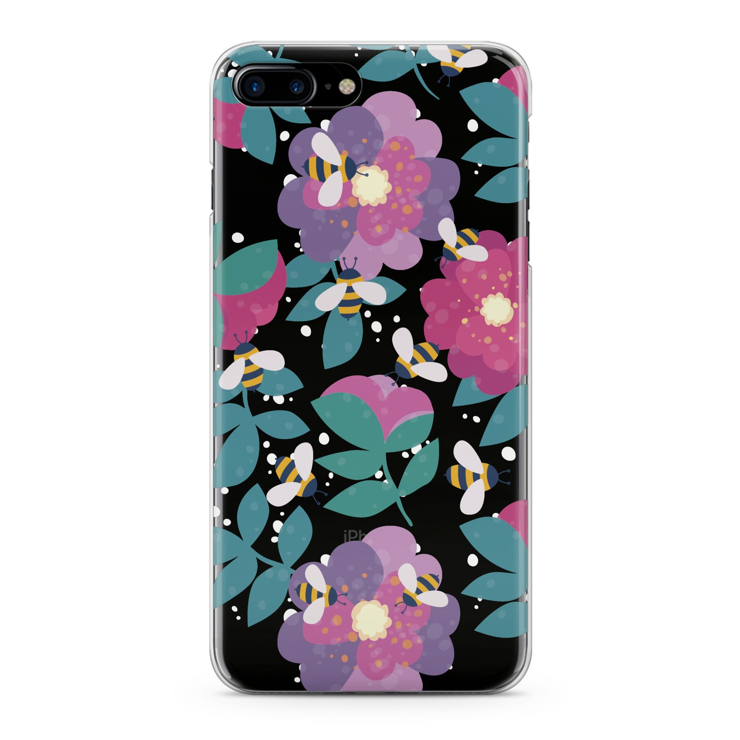 Lex Altern Floral Bee Phone Case for your iPhone & Android phone.
