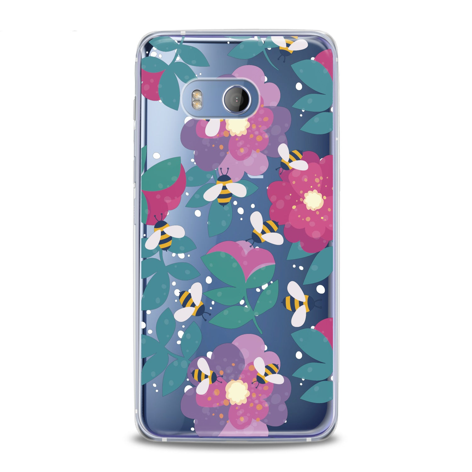 Lex Altern Floral Bee HTC Case
