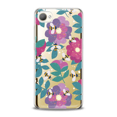 Lex Altern TPU Silicone HTC Case Floral Bee