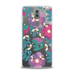 Lex Altern TPU Silicone Phone Case Floral Bee