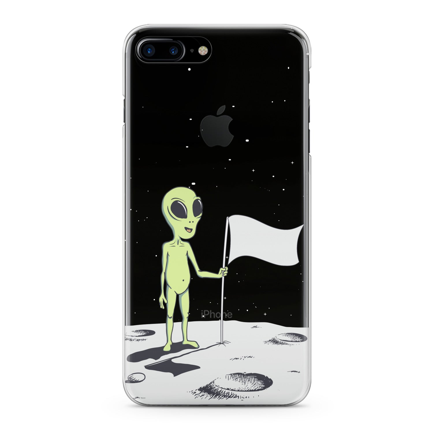 Lex Altern Cute Alien Phone Case for your iPhone & Android phone.