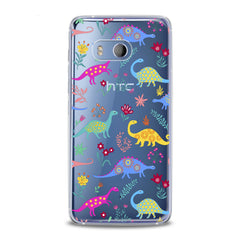Lex Altern Colored Dinosaurs HTC Case