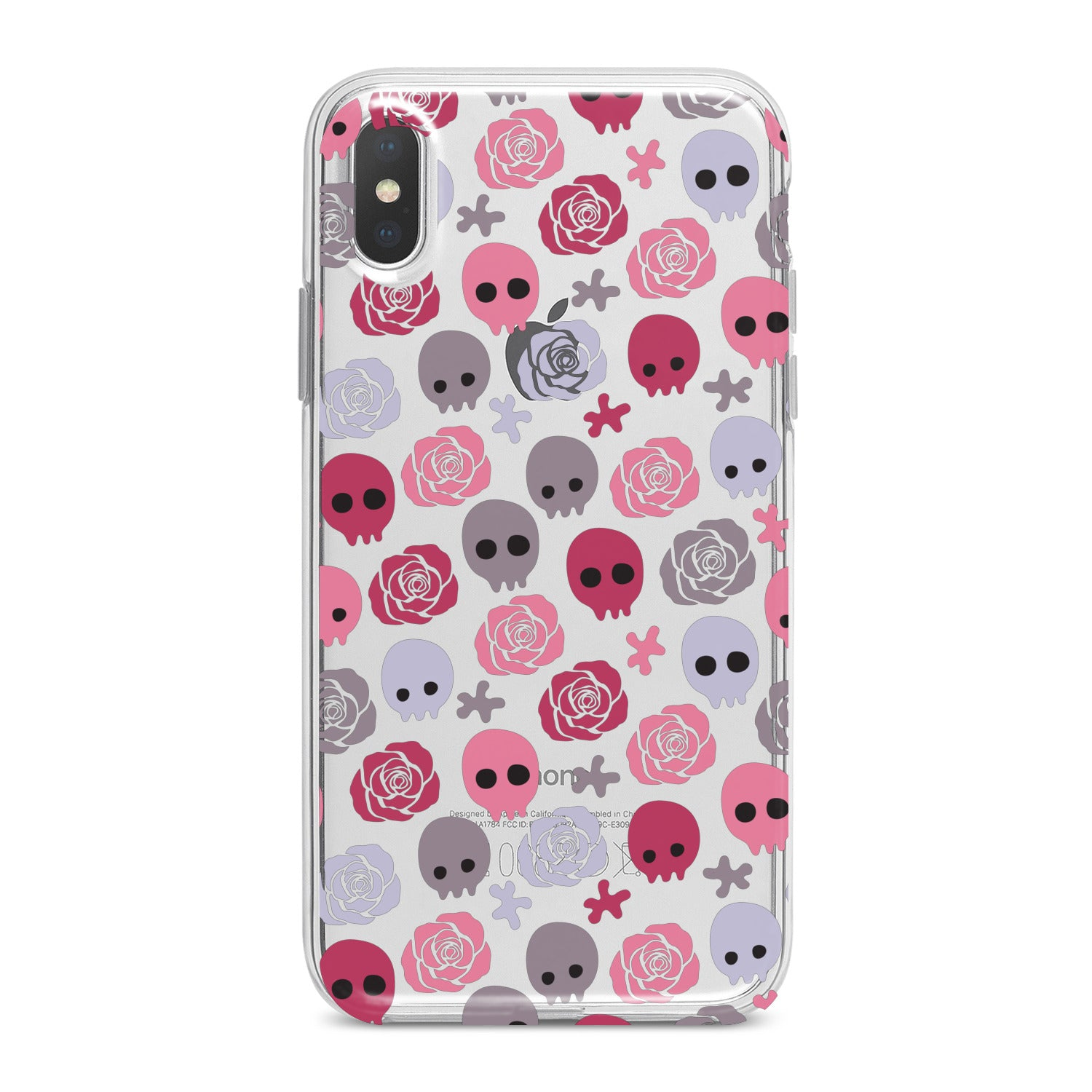 Lex Altern Floral Skulls Phone Case for your iPhone & Android phone.