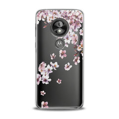 Lex Altern TPU Silicone Phone Case White Blossom