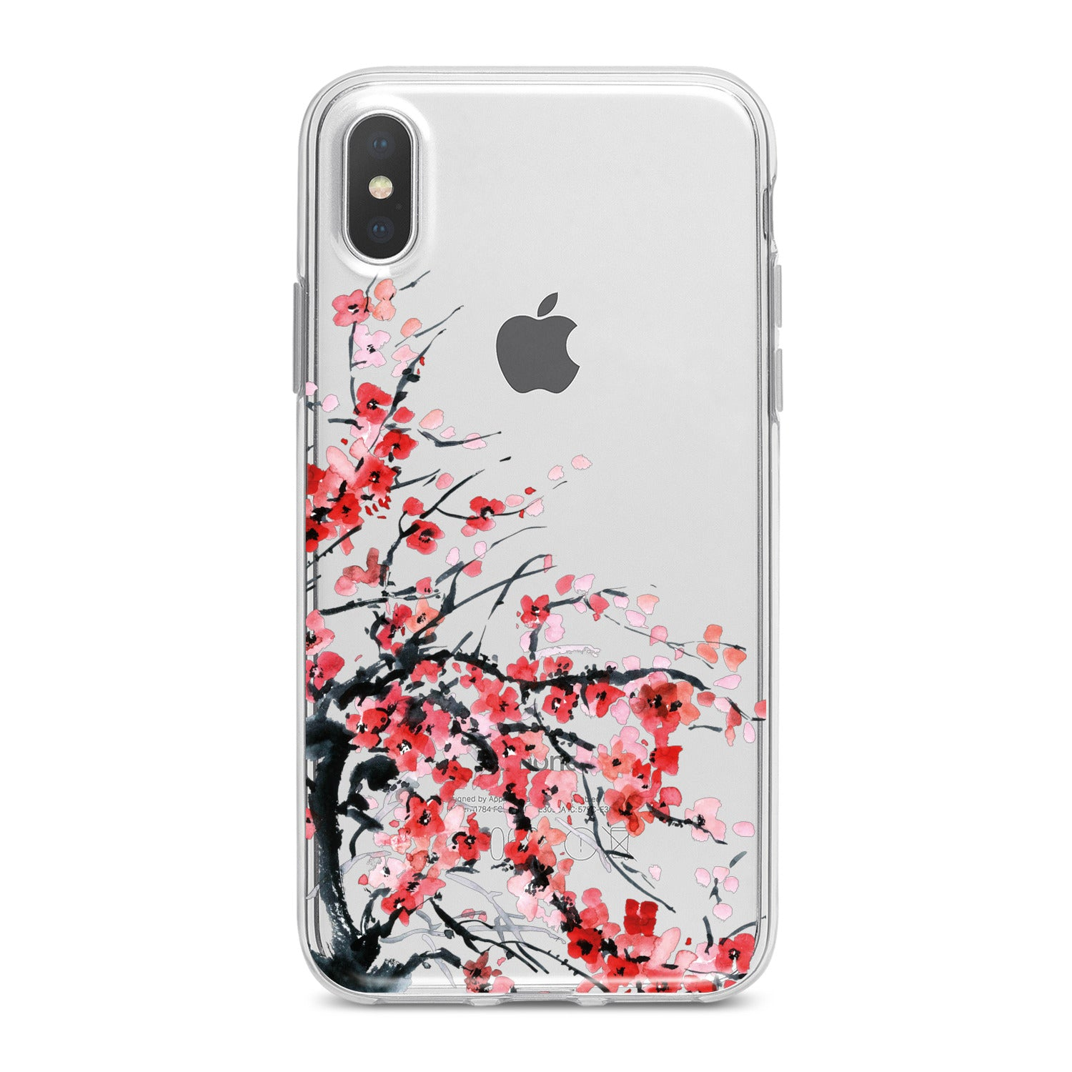 Lex Altern Red Flowers Phone Case for your iPhone & Android phone.
