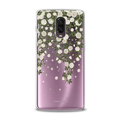 Lex Altern TPU Silicone Phone Case White Flowers