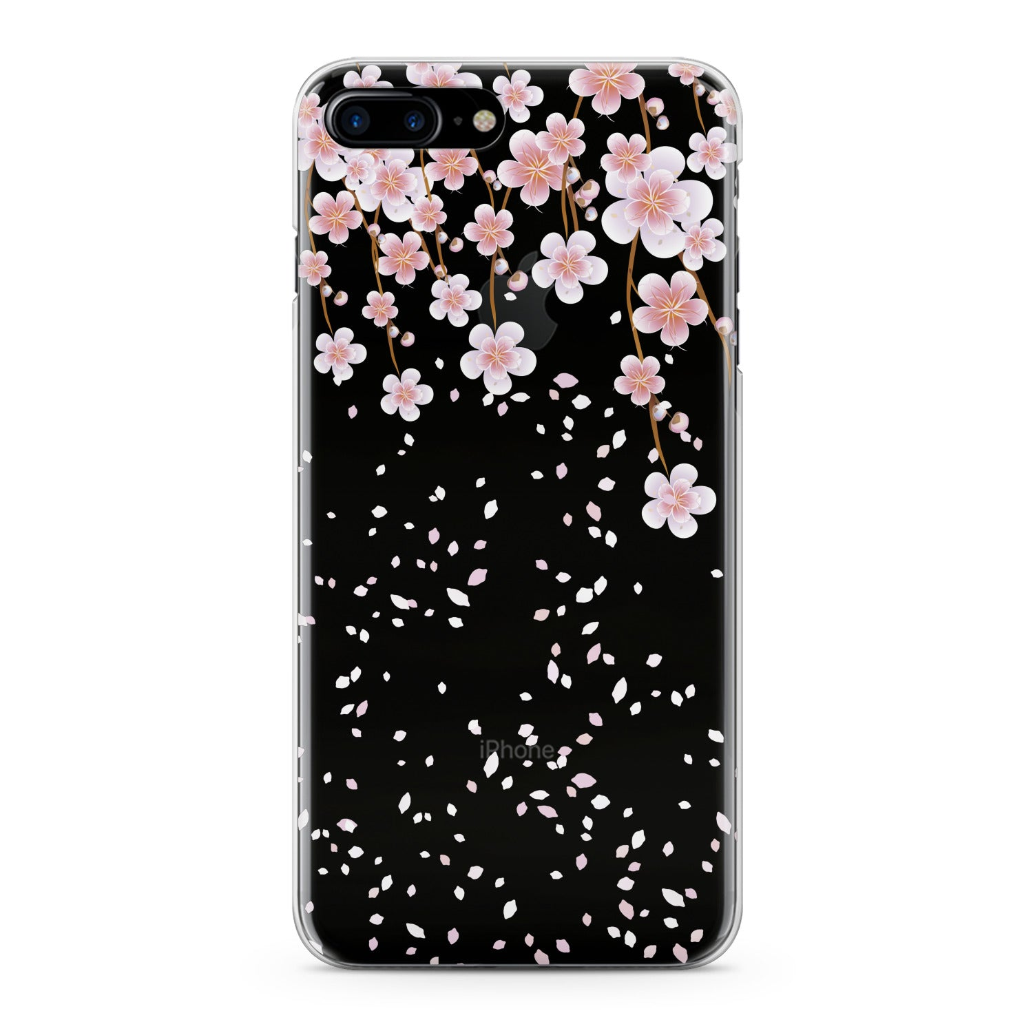 Lex Altern Gentle Pink Flowers Phone Case for your iPhone & Android phone.