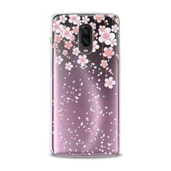 Lex Altern TPU Silicone Phone Case Gentle Pink Flowers