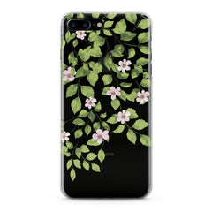 Lex Altern Green Floral Branches Phone Case for your iPhone & Android phone.