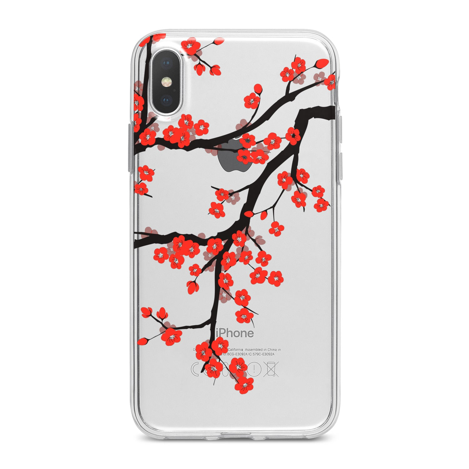 Lex Altern Orange Flowers Phone Case for your iPhone & Android phone.