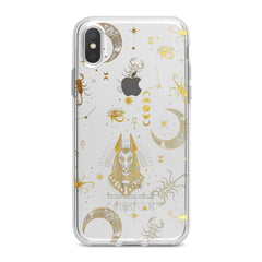 Lex Altern TPU Silicone Phone Case Golden Anubis