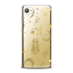 Lex Altern TPU Silicone HTC Case Golden Anubis