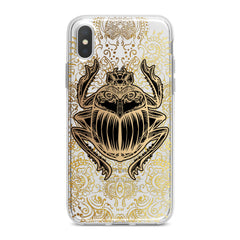 Lex Altern Black Scarab Phone Case for your iPhone & Android phone.