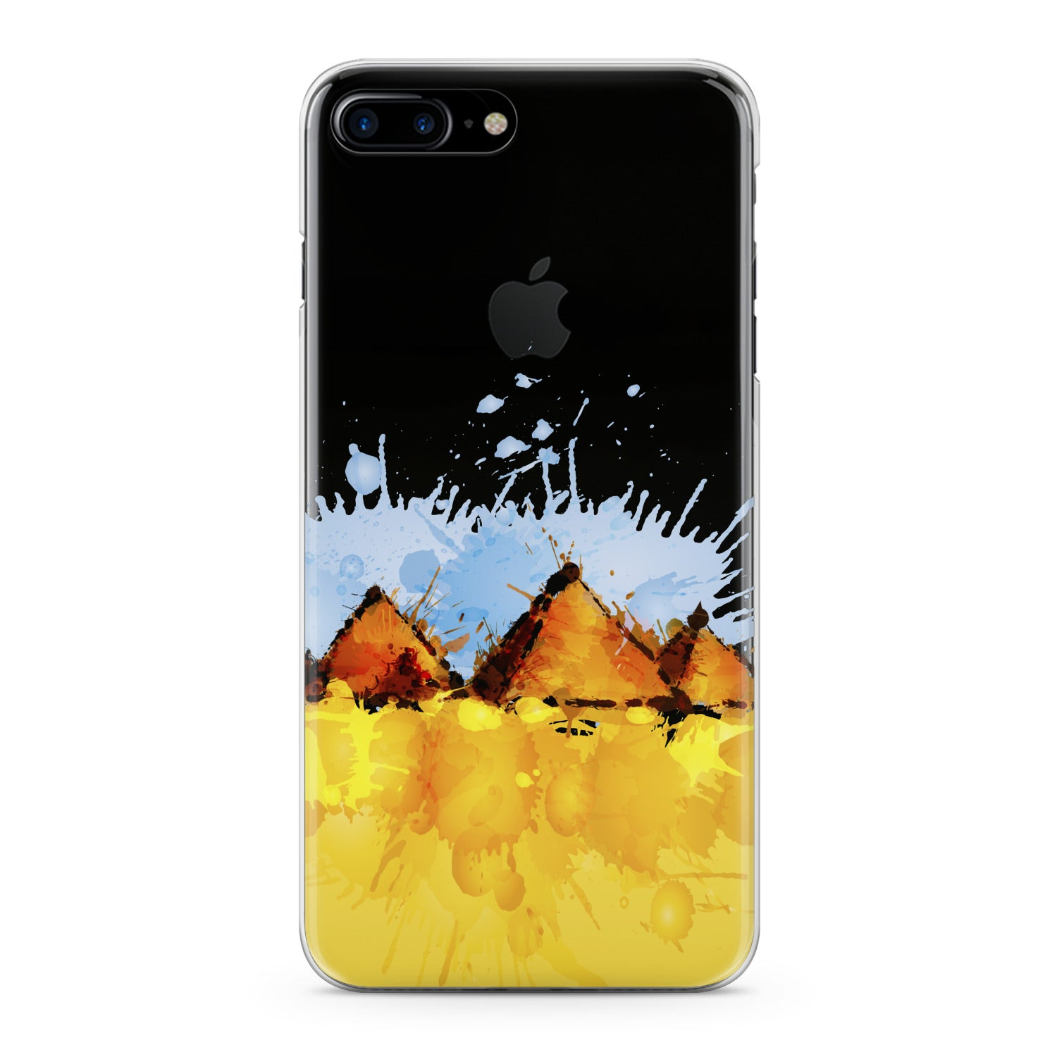Lex Altern Watercolor Pyramids Phone Case for your iPhone & Android phone.
