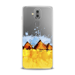 Lex Altern TPU Silicone Phone Case Watercolor Pyramids