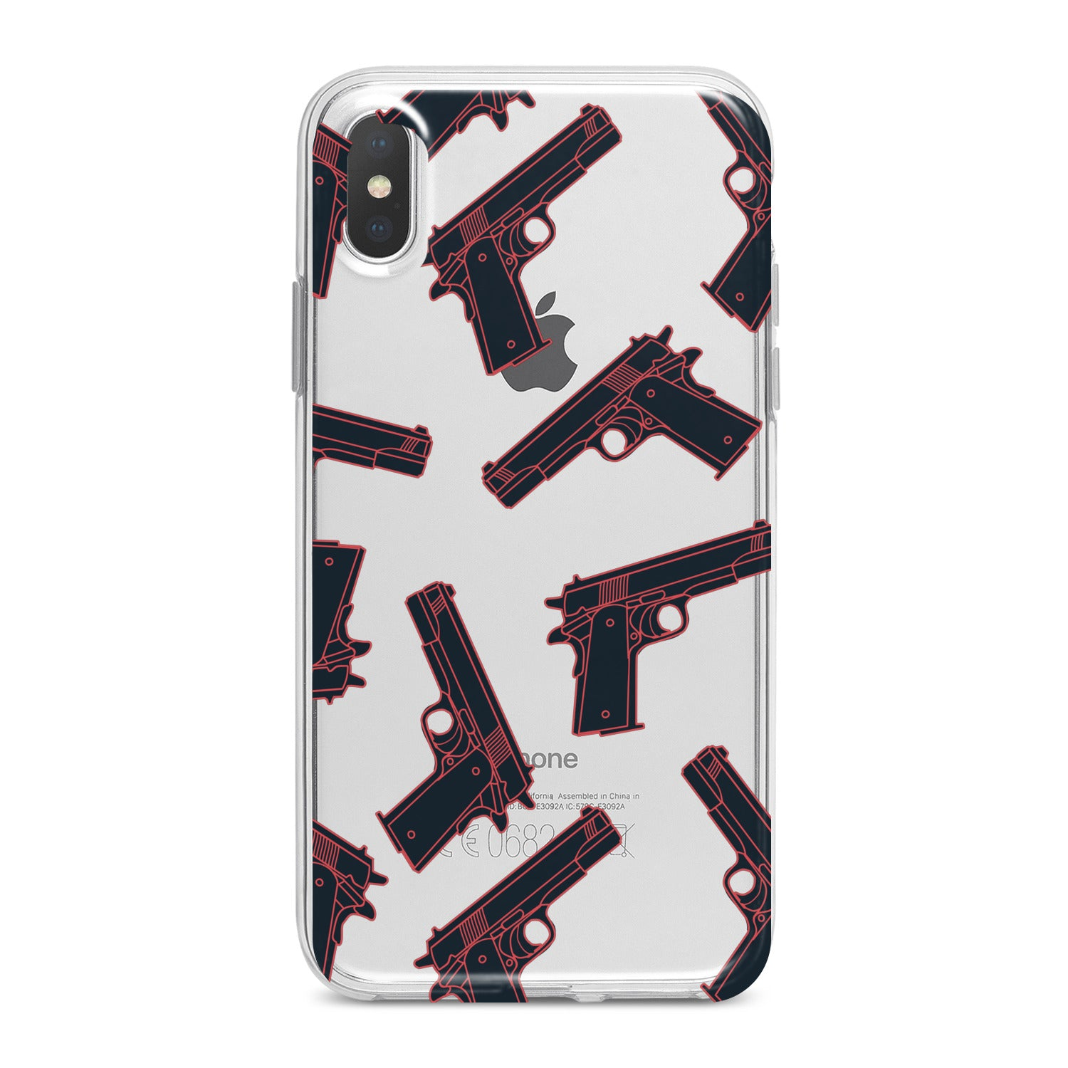 Lex Altern Gun Pattern Phone Case for your iPhone & Android phone.