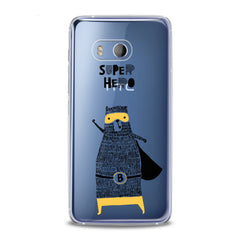 Lex Altern TPU Silicone HTC Case Super Hero