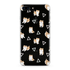 Lex Altern Shiba Inu Pattern Phone Case for your iPhone & Android phone.
