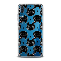 Lex Altern TPU Silicone Huawei Honor Case Black Cats