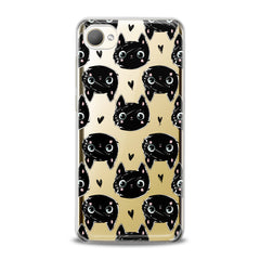Lex Altern TPU Silicone HTC Case Black Cats