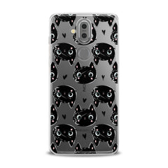 Lex Altern TPU Silicone Phone Case Black Cats