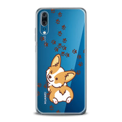 Lex Altern TPU Silicone Huawei Honor Case Puppy Corgi