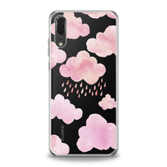 Lex Altern Pink Clouds Huawei Honor Case