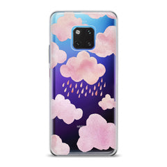 Lex Altern TPU Silicone Huawei Honor Case Pink Clouds