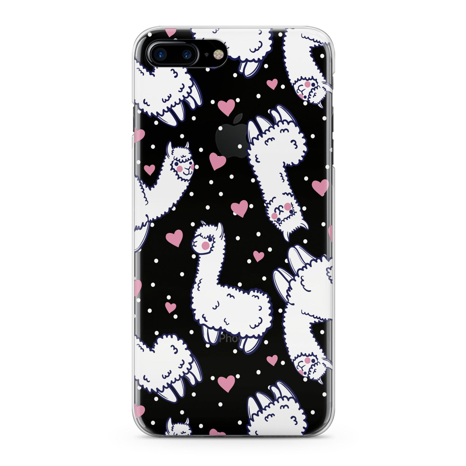 Lex Altern White Llamas Phone Case for your iPhone & Android phone.